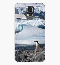 """Adelie Penguin  ~  """"and this is my backyard"""" Case/Skin for Samsung Galaxy"""