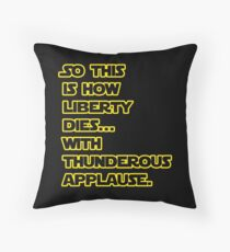 Padme Amidala Quote Star Wars Throw Pillow