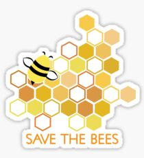 Save the Bees 1 Sticker