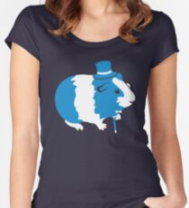 Sir Guinea Pig (Sir Critter) Women's Fitted Scoop T-Shirt