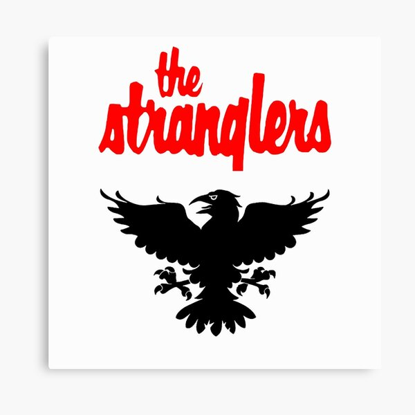 The Stranglers Raven Graphic Canvas Print