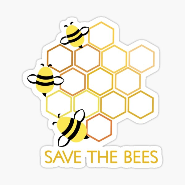 Save the Bees #2 Sticker