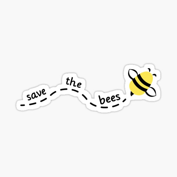 Save the Bees #3 Sticker