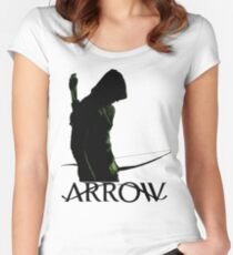 Arrow Hero Women's Fitted Scoop T-Shirt