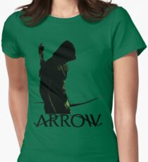 Arrow Hero Womens Fitted T-Shirt