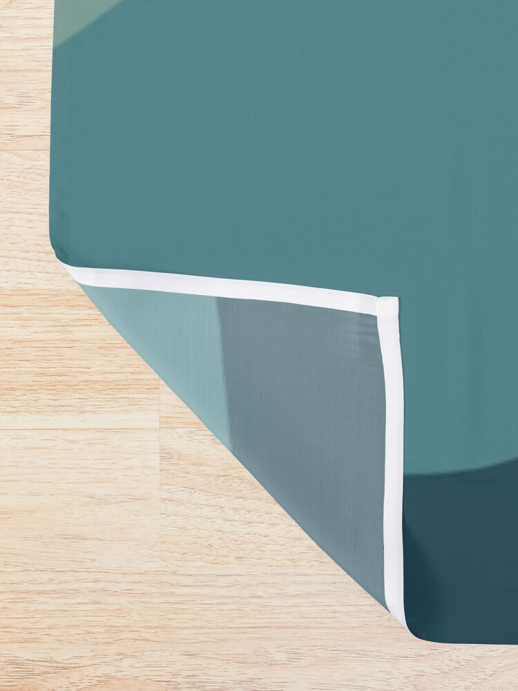 Alternate view of Cat Landscape 72B Shower Curtain