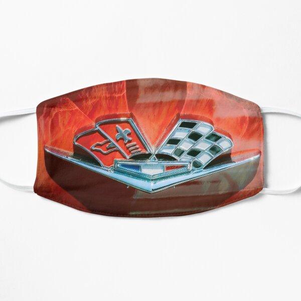 Corvette Emblem Flat Mask