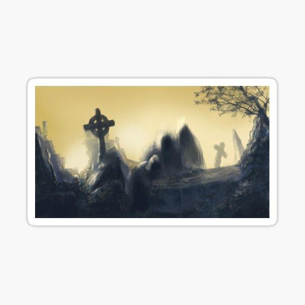 Mortuary meeting Sticker
