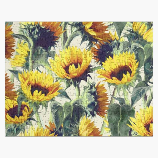 Sunflowers Forever Jigsaw Puzzle