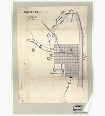 Civil War Maps 0083 Augusta Ga 1864 Poster