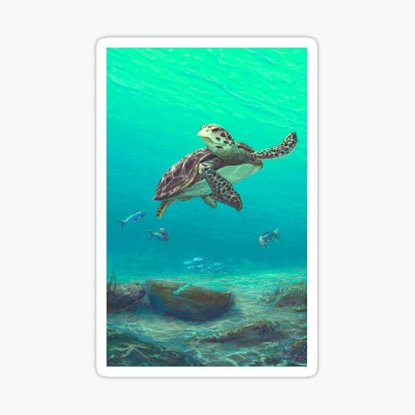 Sea turtle Sticker