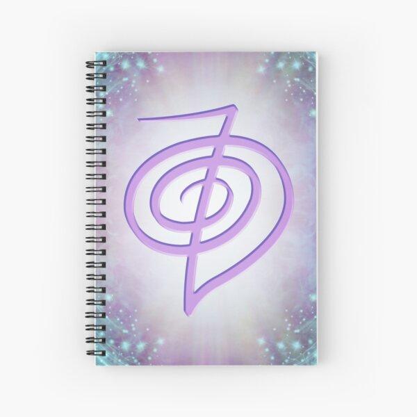 Relaxing Reiki Spiral Notebook