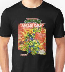Camiseta ajustada TMNT II: el juego Arcade