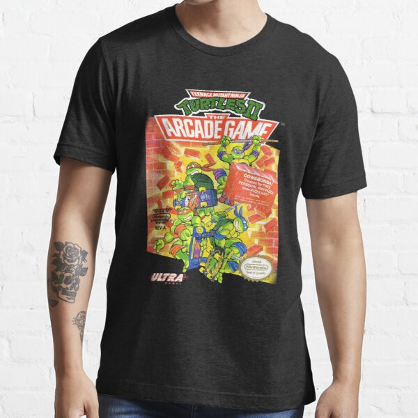 TMNT II: The Arcade Game Essential T-Shirt