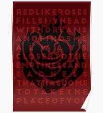 Ruby Rose Print Poster