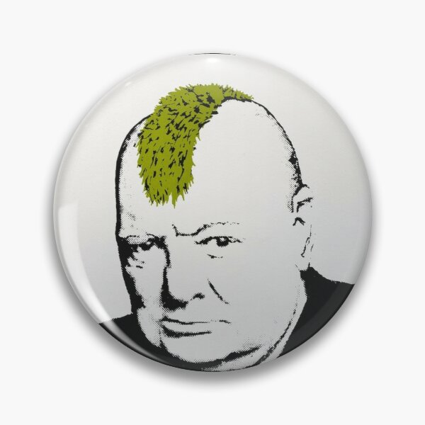 BANKSY Churchil Pin