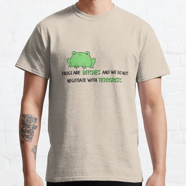 umbrella academy season 2 Klaus Hargreeves frogs are bitches Classic T-Shirt