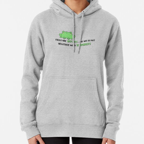umbrella academy season 2 Klaus Hargreeves frogs are bitches Pullover Hoodie