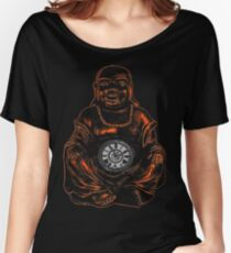 Belly Clock Buddha Women's Relaxed Fit T-Shirt