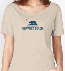 Newport Beach - California. Women's Relaxed Fit T-Shirt