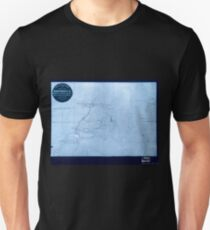 Civil War Maps 0515 Information map of part of Georgia Inverted Unisex T-Shirt