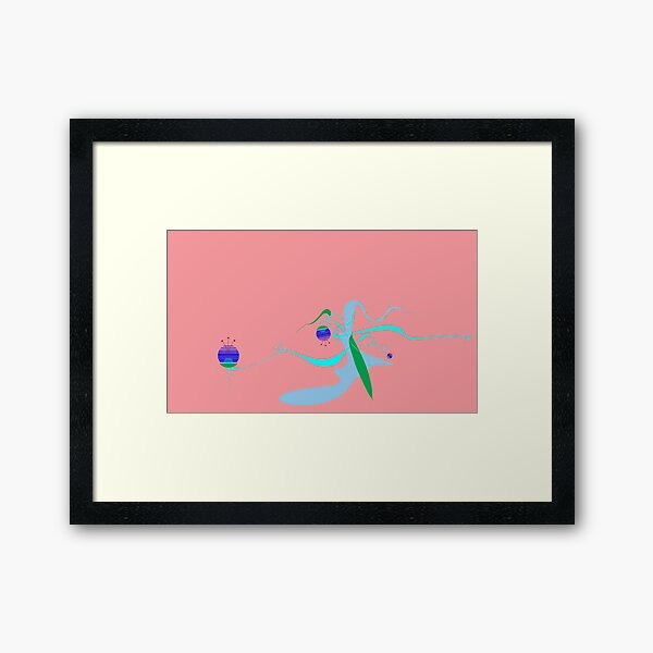 - Water's Tree -by the Global Dorf Art Project Framed Art Print