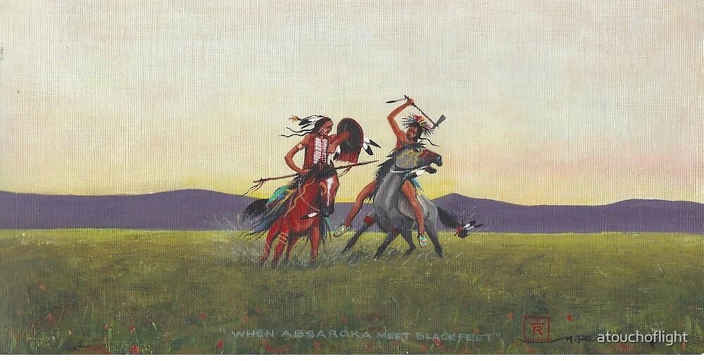 """When Absaroka Meet Blackfeet"" by M. Rabago by atouchoflight"