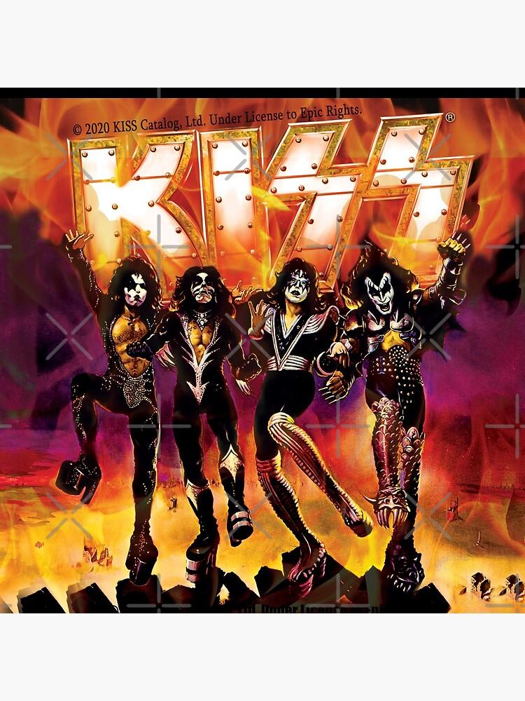 kiss the band by Rajpramanik