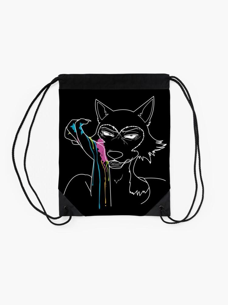 Alternate view of Paint Drawstring Bag