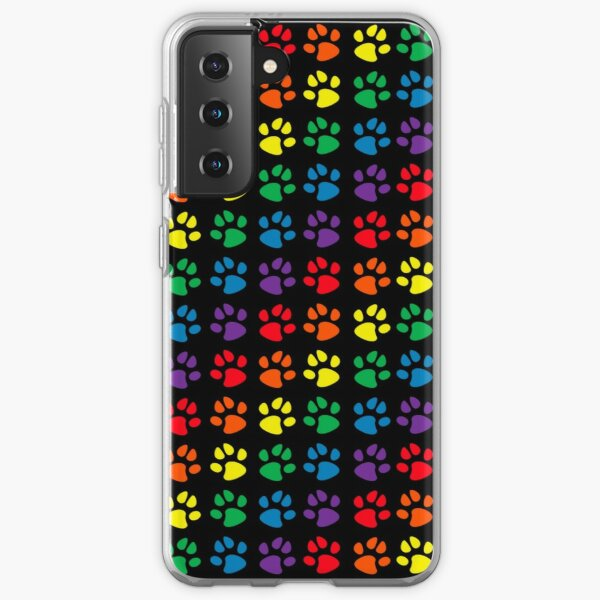 Pup Paw Pride Samsung Galaxy Flexible Hülle