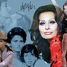 Sophia Loren by Dulcina