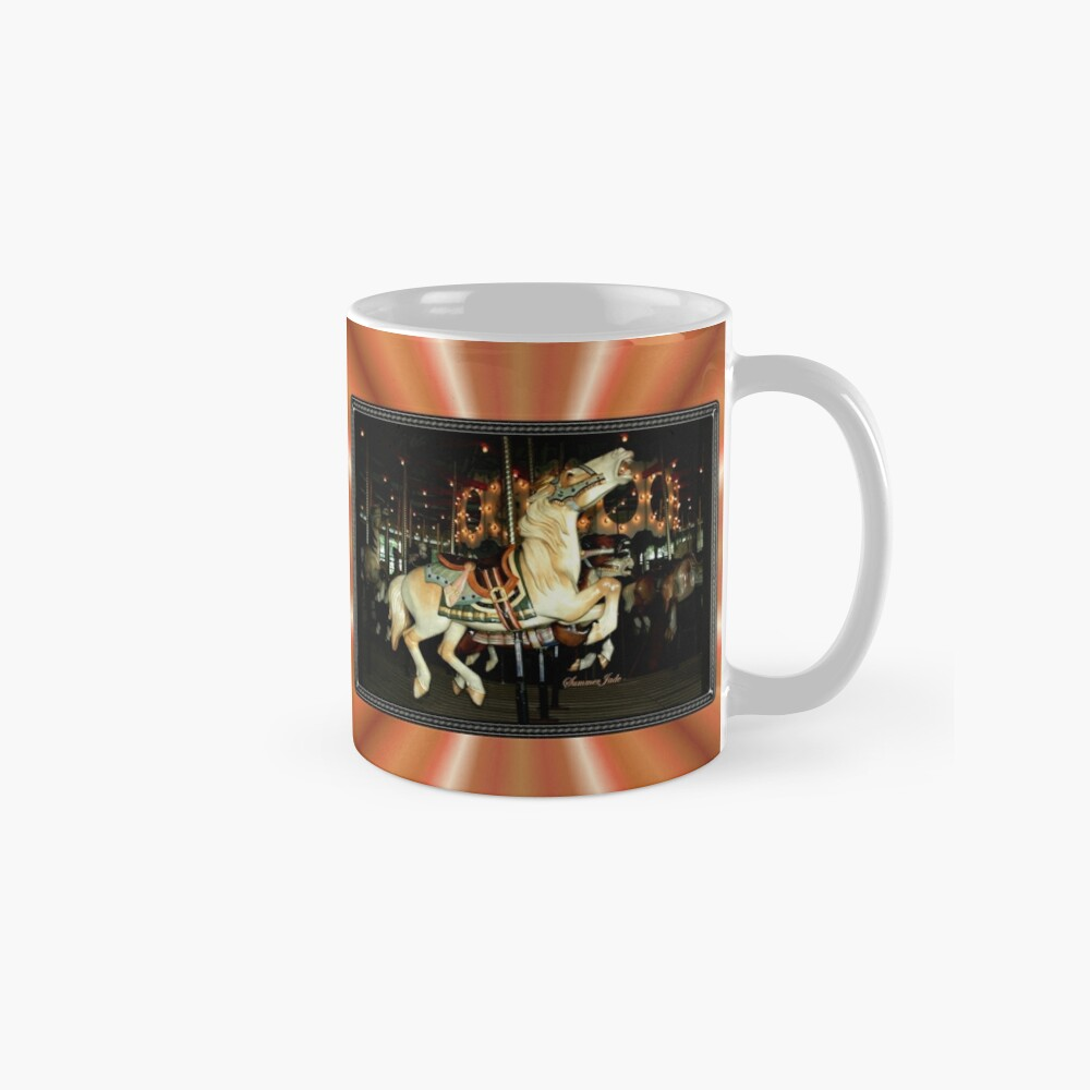 Beautiful Horse on the Carousel Mug