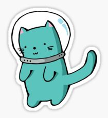 Astronaut Cat Sticker