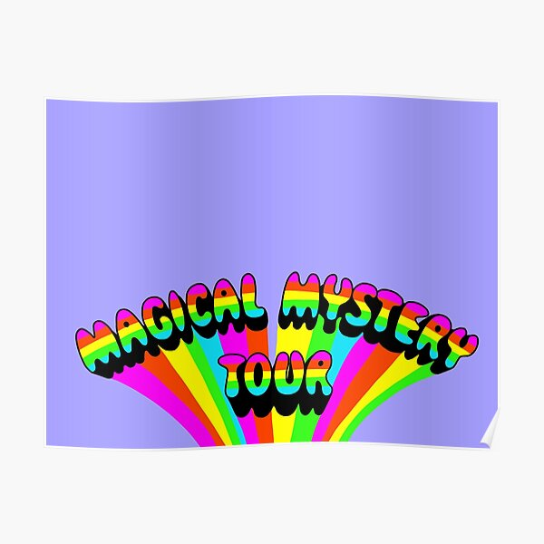 magical mystery tour logo Poster