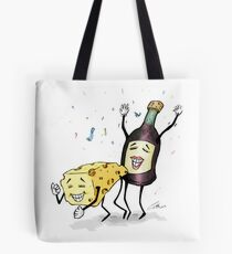 Cheese & Whine Party Tote Bag