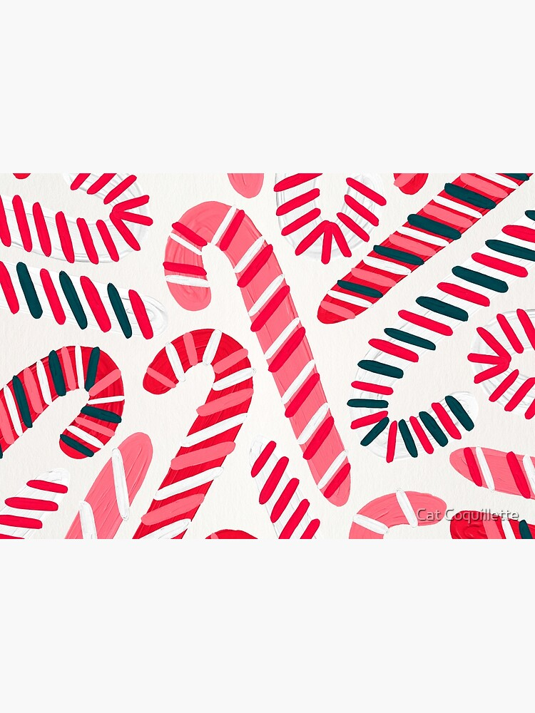 Candy Canes – White by catcoq