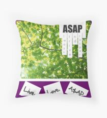 Live.Love.A$AP Throw Pillow