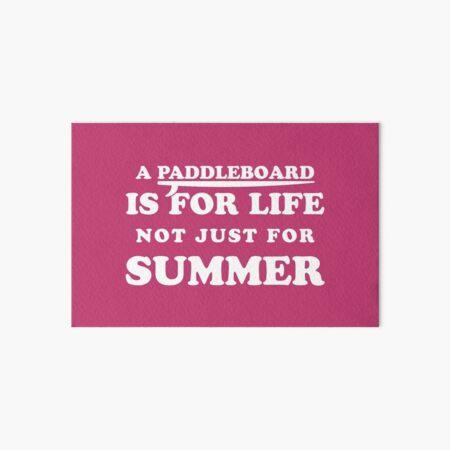 ¡Una tabla de remo es para toda la vida, no solo para el verano! Lámina rígida