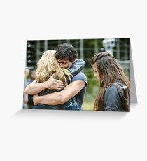 The 100 - Bellarke Hug Greeting Card