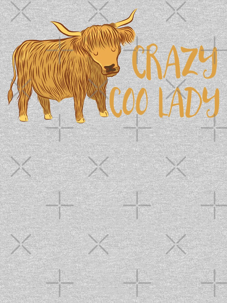 Crazy Coo (HIGHLAND COW) Lady by jazzydevil