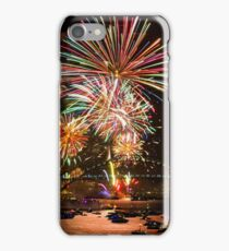 Sydney New Year's Eve Fireworks (Multicolour) iPhone Case/Skin