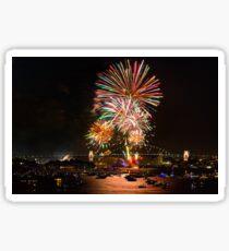 Sydney New Year's Eve Fireworks (Multicolour) Sticker