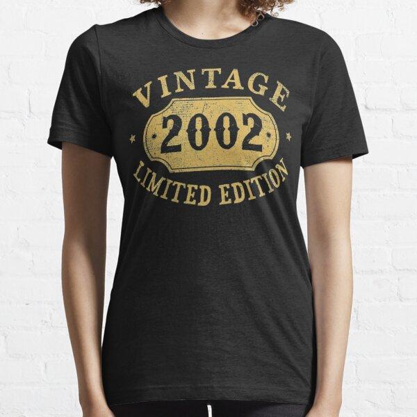 17 años de edad, regalo de aniversario de 17 años de edad limitada 2002 Camiseta esencial