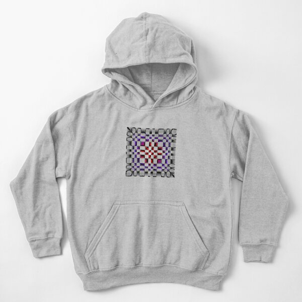 Abstract pattern no. 88 Kids Pullover Hoodie