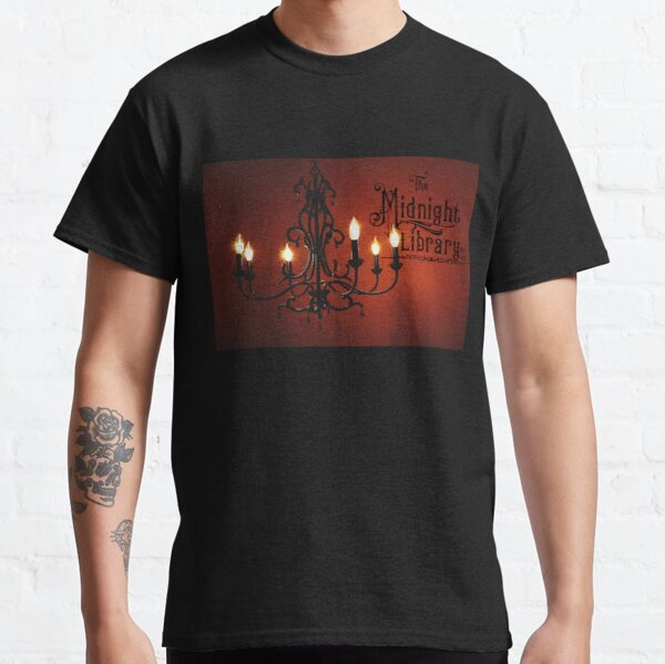 Midnight Library Chandelier Logo! Classic T-Shirt