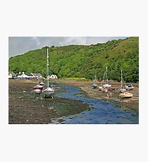 Low Tide at Solva Photographic Print