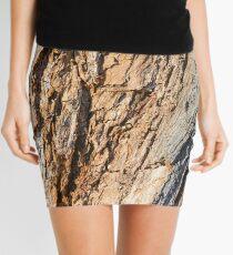 Tree Bark Mini Skirt