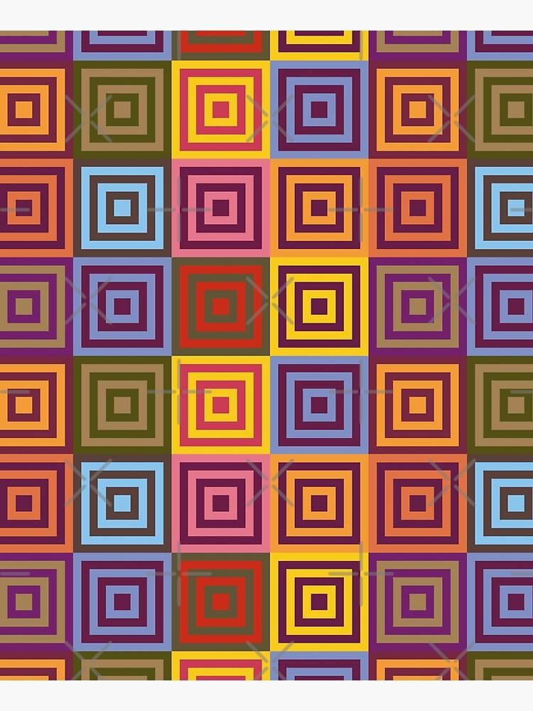 Playfull squares by WendyLeyten