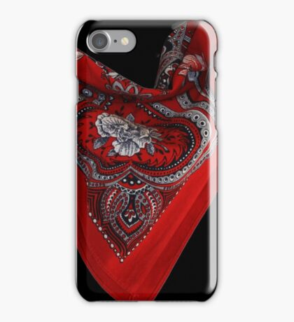How to Tie A Bandana  iPhone Case/Skin