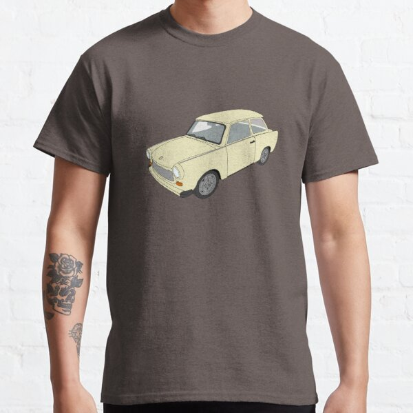 Trabi-Wagen (Helloliv / Schilfgrün) Classic T-Shirt